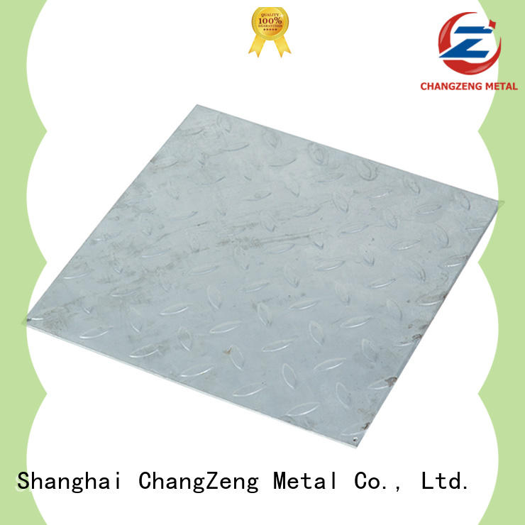 ChangZeng 304 steel plate factory for commercial