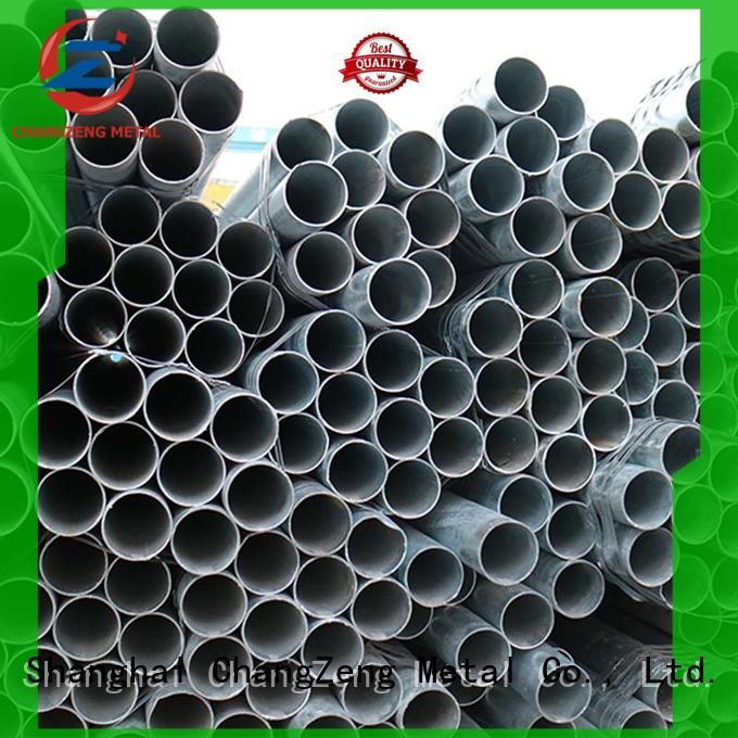 practical steel pipes customized for construct