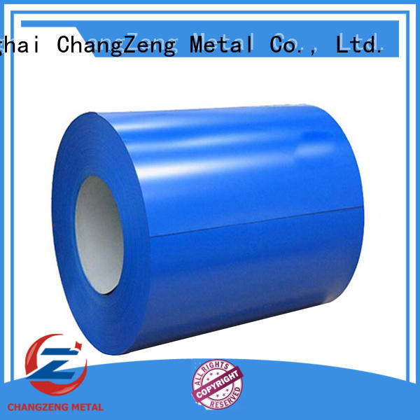 ChangZeng certificated steel sheet coil supplier for industry