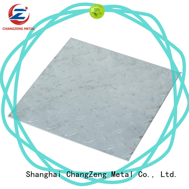 ChangZeng cost-effective 12 gauge steel sheet price Supply for construction