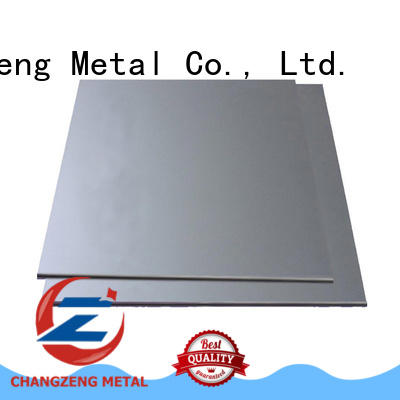 ChangZeng stainless steel sheet plate factory for industrial