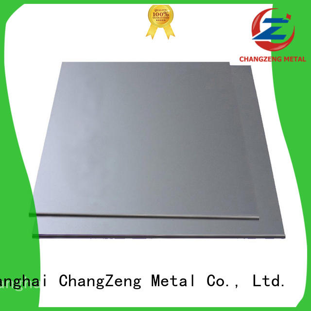 ChangZeng stainless steel sheet suppliers factory for industry