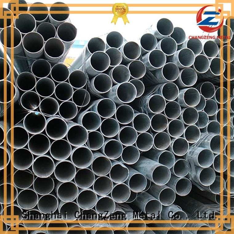 Latest galvanized steel tube factory for construct