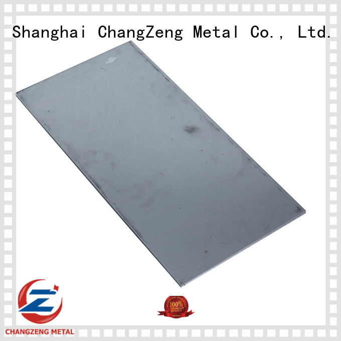 ChangZeng approved steel sheet with good price for industry