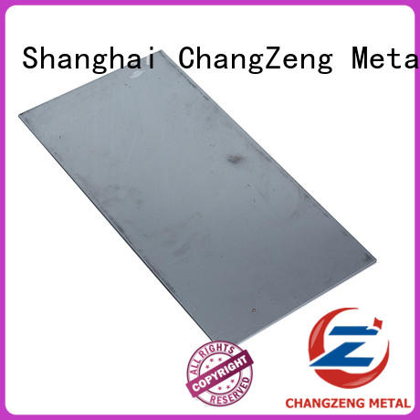ChangZeng approved cold rolled steel sheet metal manufacturers for industrial