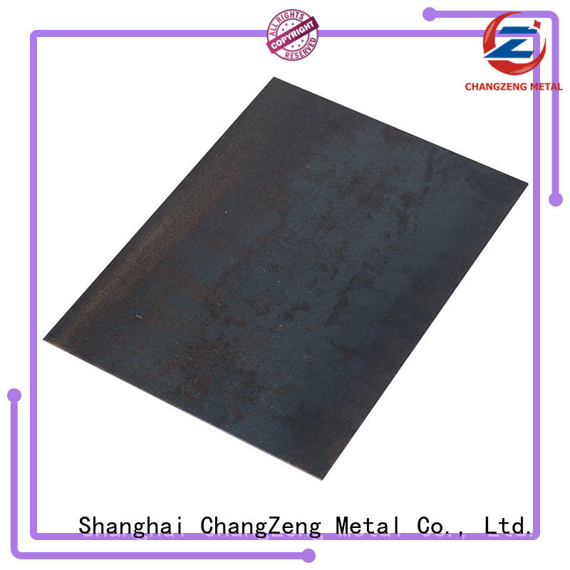 ChangZeng Latest 9 gauge steel sheet factory for construction