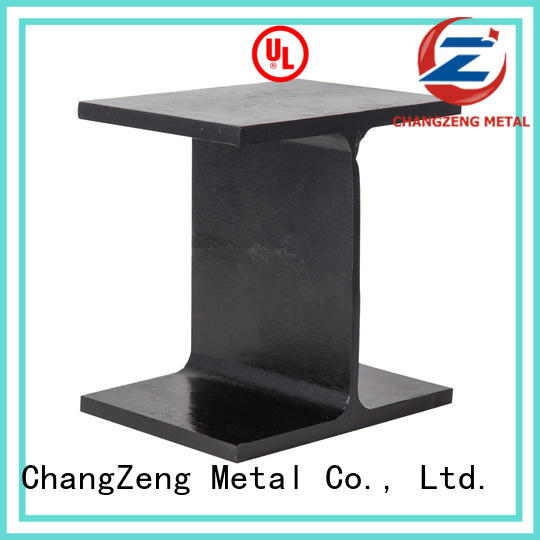 ChangZeng stable wide flange standard sizes factory price for channel