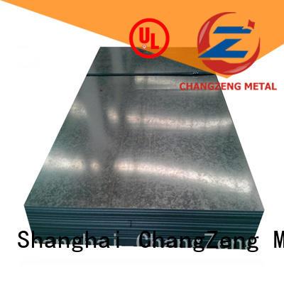ChangZeng steel sheet design for industrial
