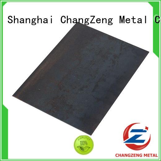 ChangZeng 16 gauge mild steel sheet factory for industry