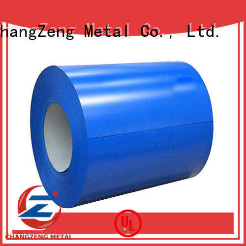 ChangZeng galvanized steel coil company for commercial